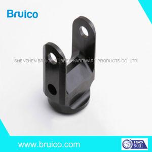 La precisión de metal personalizados de aleación de aluminio anodizado negro Soporte de montaje