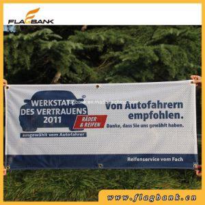 Malla de poliéster personalizadas con pasamuros Banner banner de publicidad exterior