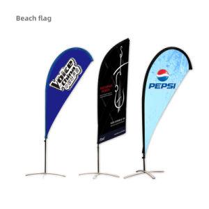 Reciclar pvc personalizadas Playa de bandera La bandera bandera de la comunidad de plumas