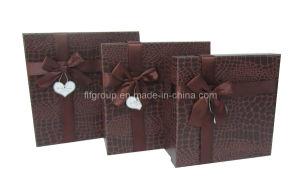 Elegante Set de Regalo Chocolate delicado Cuadro de papel (FAXH0033S)