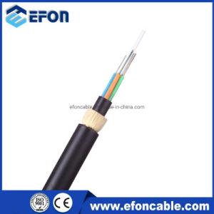 Funda doble Self-Supporting antena de 24 núcleos 48 núcleos ADSS, Cable de fibra óptica de 150m-250m Span