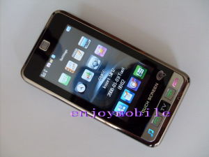 3.0 Zoll WQVGA verdoppeln SIM 16:9 Touch Screen Fernsehapparat-Handy (T33)