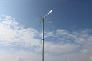 ああ5kw格子解決の計画のための可変的なピッチの風発電機