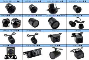 CMOS CCD 360度回転車の側面の前部背面図のカメラ