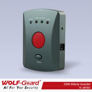 Ancianos la llamada de emergencia del sistema con el botón de pánico llamada de teléfono móvil GSM SMS Pulsera con el sistema de alerta médica