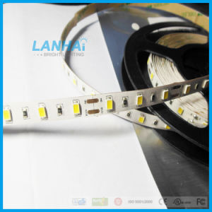24V 5630 60LED SMD/M Fita LED de luz branca quente de lâminas