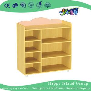 El Kindergarten armario de ropa y calzado de madera en Stock (HG-4208)