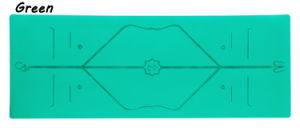 Impresa personalizada de Mat Non-Toxic ecológica estera del yoga para la venta