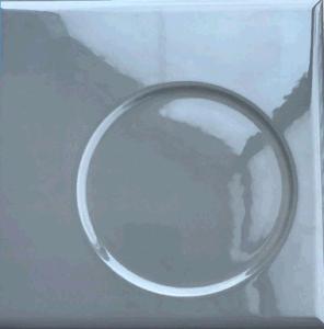 De grijze Concrete Tegel van de Vorm met Grootte van 120mmx180mm met het Hete Verkopen