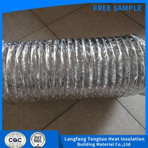 Tubo flessibile a prova di fuoco di ventilazione del condotto della macchinetta a mandata d'aria del di alluminio