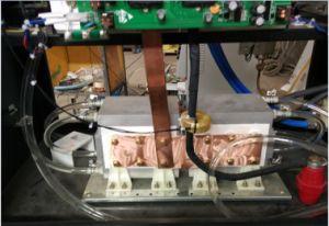 놋쇠로 만드는 용접을%s 휴대용 중파 유도 가열 장비