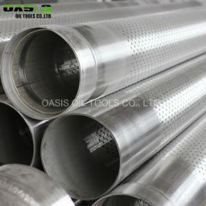 Diritto nella riga tubo perforato del metallo del reticolo per il commercio all'ingrosso