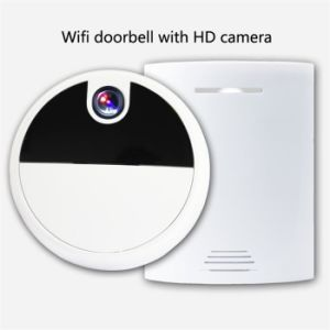 I-Timbre Campana de la puerta de Vídeo Inteligente Teléfono WiFi vídeo Anillo de campanilla de Timbre inalámbrico Wireless WiFi inteligente de la Cámara de timbre