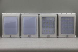 Sensor de movimiento de Energía Solar solar impermeable Jardín LED Lámpara de pared