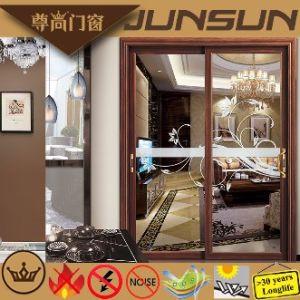 Prezzo di offerta della fabbrica di Foshan portello scorrevole d'attaccatura dell'alluminio di alluminio del prodotto