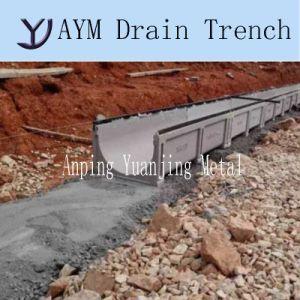 Высокой прочности полимерные конкретные траншея канал для дорожного строительства