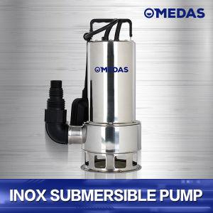 La pompe d'eaux usées submersible en acier inoxydable avec la CE