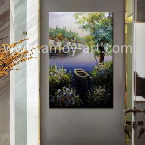 Pitture europee Handmade della lama di paesaggio su tela di canapa