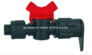 Valvola a sfera di plastica di irrigazione di uso dell'azienda agricola e del giardino di irrigazione mini
