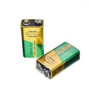 De Batterij van de Koolstof van het Zink van de Code van CEI 6f22 9V