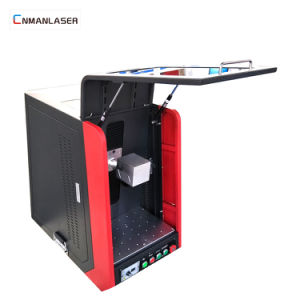 macchina da tavolino da tavolino della marcatura del laser del tasto di CNC di 30W Raycus