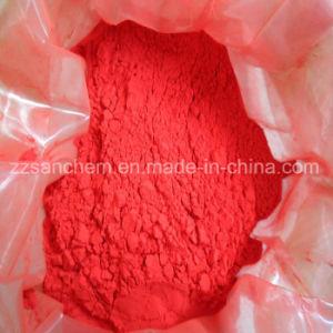 El óxido de hierro en polvo de pigmento rojo como el hierro Oxidedyes