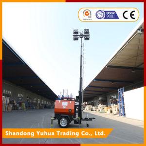 販売のための移動式照明タワーを使用して高力競技場