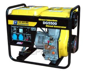 Handle와 Wheels를 가진 6.0kw Air Cooled Portable Diesel Generator