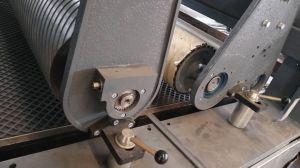 28&deg를 가진 R-P 넓은 벨트 측정 모래로 덮는 기계; 고무 롤러