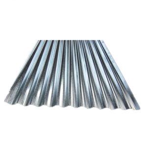 Z100 Z150 SGCC Zinc fer galvanisé Acier Feuille de toit