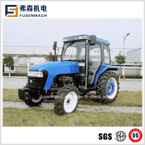 4WD 75hp, 55kw Agriculatural Tractor com cabina