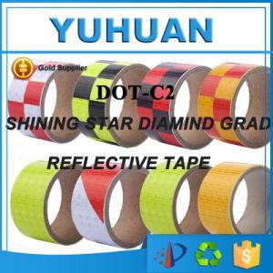 De gekleurde PVC/Pet Gebaseerde Band van het Voertuig van de Vrachtwagen Zelfklevende Lichte Weerspiegelende