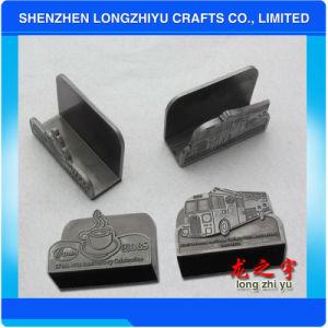 Il metallo su ordinazione di marchio perfezionamento il supporto di scheda di identificazione