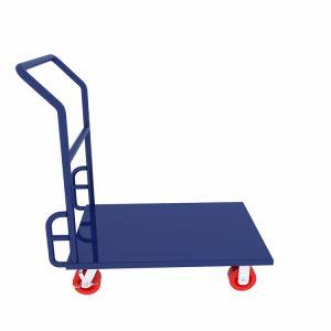 Carrello d'acciaio della piattaforma della maniglia fisso piattaforma materiale