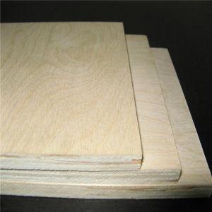 18mm Furnier-Blattfurnierholz Blatt gekostetes preiswertes Commerical Furnierholz der Birken-4X8