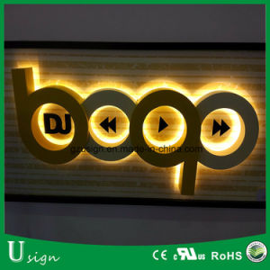 Acrílico con retroiluminación LED letras de canal fabricado en China