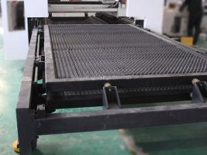 3000W/4000W de corte y grabado láser de fibra de la máquina con sistema CNC