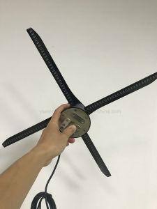 Annuncio olografico LED di Yashi 3D che fa pubblicità alla visualizzazione del ventilatore del giocatore 3D