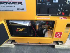 Generatore diesel silenzioso eccellente 5kVA per la casa, generatore del diesel 5kVA