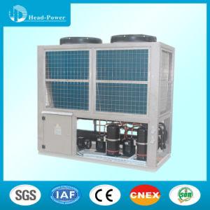 Modular de Rolagem Air-Cooled comercial Chiller de Agua