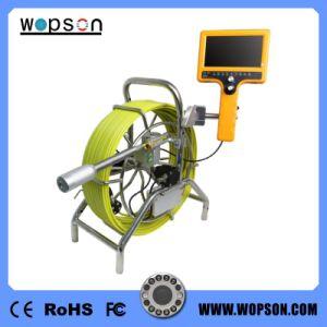 Resistente al agua de mano de la grabación de vídeo Cámara de inspección del tubo con cabezal de 40 mm