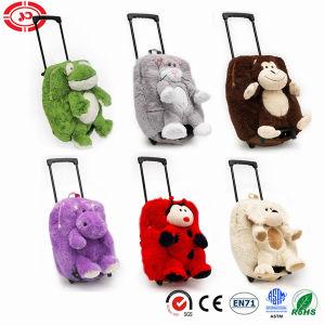 Options d'animaux en peluche mignon moelleux Trolley de voyage sac de cadeaux pour enfants