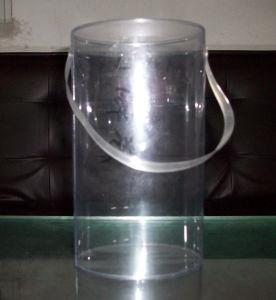 プラスチックシリンダーボックスを包む明確な管(中国製)