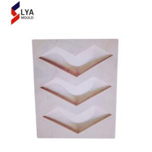 のどの具体的で装飾的な壁パネル3Dの壁のゴム製型
