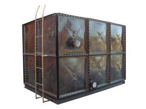 エナメルの鋼鉄タンク出版物の鋼鉄水漕水容器