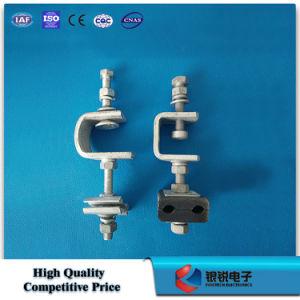 Abajo la abrazadera de cable de acero galvanizado para hardware de la línea de polo de la torre