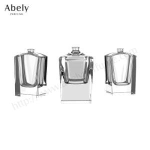 Luxuxhandschwere Glasduftstoff-Polierflasche von der Guangzhou-Fabrik