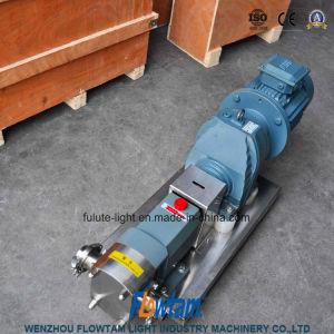 Lobo Inox sanitário com Redutor de Velocidade da Bomba do Rotor