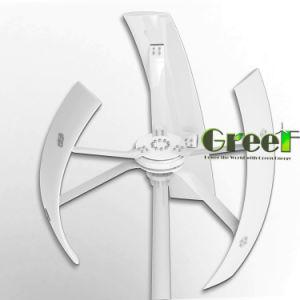 Greef 500W 24V 3fase AC baixa velocidade da turbina gerador eólico do eixo vertical
