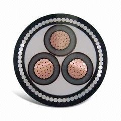 1kv, 11kv, 35kv XLPE Insulation Steel Wire Armoured Electric Cable